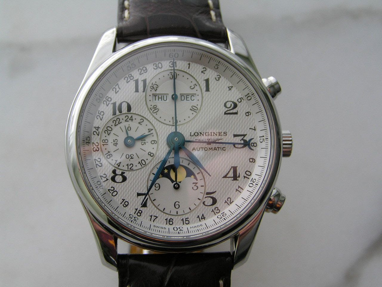 longines master collection chronograph review