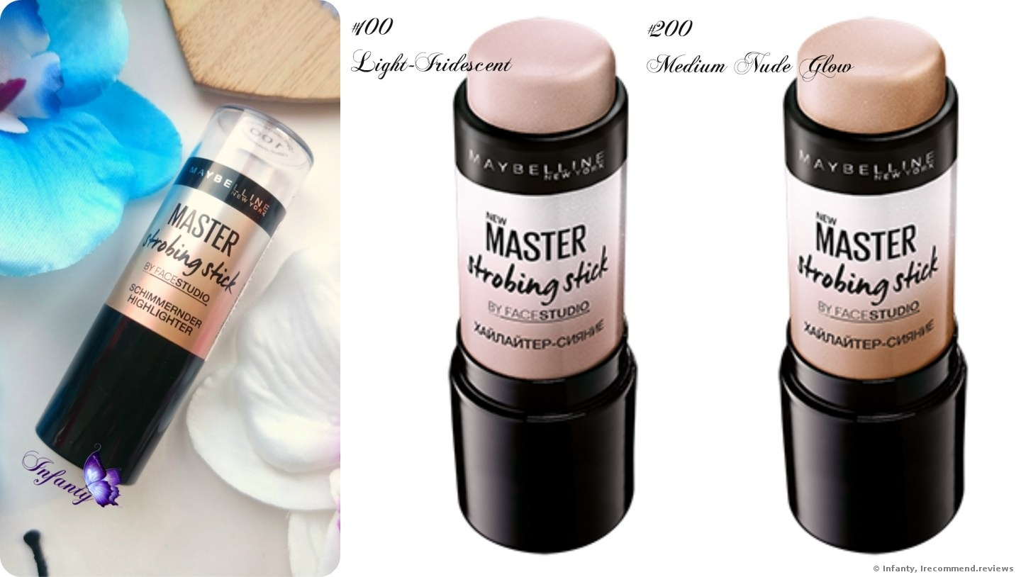 maybelline strobing stick pink review