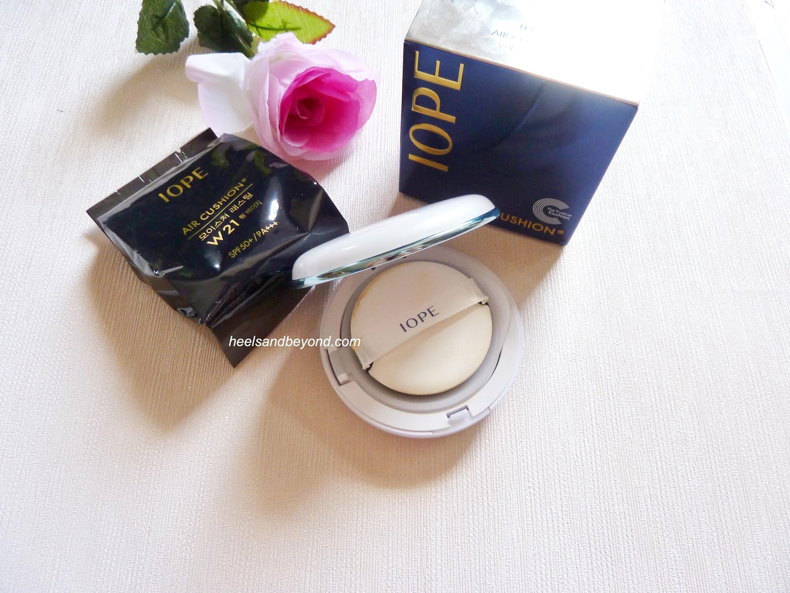 iope moisture lasting cushion review