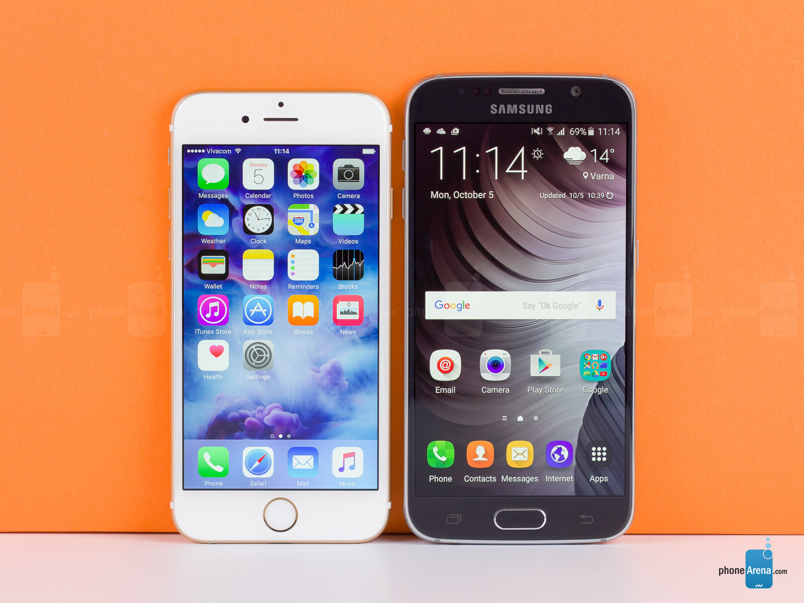 samsung galaxy s7 vs iphone 7 review
