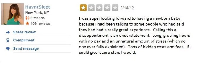 worst yelp reviews of all time
